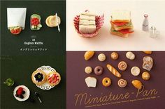 with photos & instructions for bagel, roll, croissant, French Toast, sandwich etc. by Padico