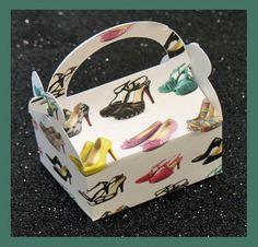 high heel shoes party favor box high heel shoes by tinygiftboxes, $1.35