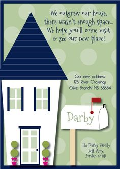 paint swatch moving announcement adorable idea home is