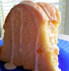 Cream Cheese Pound Cake III - This is a heavy, dense, extremely good pound cake..