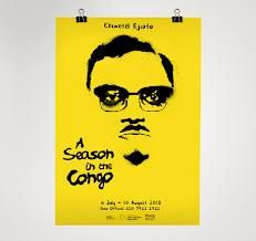 A Season in the Congo at The Young Vic. Chiwetel Ejiofor is possibly the sweatiest actor int he world but he rocked.