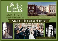 Sunday 2nd October - The Elms Wedding Showcase, Don't miss it! Lilly Dilly's will be there! #wedding #fayre #showcase #catwalk #suppliers #Lilly Dilly's