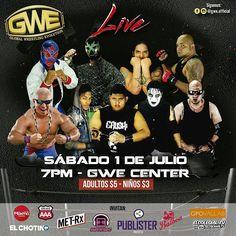 Amigos!! A @mr.pascualgwe le dio la gana de darnos boletos para @gwe.official este sabado, pendientes esta noche los regalaremos, podrán ser parte de la evolucion de wrestling en panamá!!! #lucha #luchalibre #wrestling #wrestlingzonepty #globalwrestlingevolution #ring #mascara #apoya #panama #luchanacional #luchador #wrestler #evolucion #cobertura http://ameritrustshield.com/ipost/1547281063197703855/?code=BV5C-3bln6v