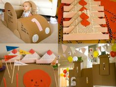 cardboard party