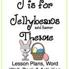 J is for Jellybean/Easter Themed Unit-Preschool Lesson Plans - Distance Learning April Preschool, Preschool Lesson Plans, Kindergarten Fun, Preschool Education, Preschool Themes, Easter Activities, Alphabet Activities, Teaching Themes, Teaching Activities
