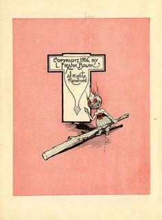 "Source: L. Frank Baum (Author), John R. Neill (Illustrator): ""John Dough and the cherub"". 1906."