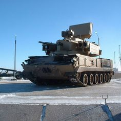 Pantsyr S1 Close Range Air Defence System (Russia)