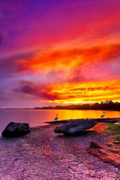 Shoalhaven River Sunset ~ New South Wales, Australia