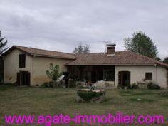 VENTE FERME RENOVEE 33690 GRIGNOLS http://www.agate-immobilier.com