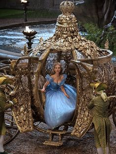How All the Beauty Looks in Cinderella Came to Life: Beauty Trends: allure.com
