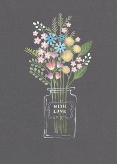 flower vase jenny wren #guestpinner @HappyMakersBlog @homeandgardenNL