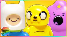 LEGO Dimensions - Adventure Time - Finn the human, Jake the Dog, Lumpy Space Princess Minifigures Adventure World, Adventure Time Finn, Princess Videos, Lego Universe, Finn Jake, Lumpy Space Princess, Finn The Human, Jake The Dogs, Ice King