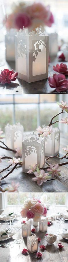 Bạn là những người yêu thích sản phẩm handmade! Dưới đây là một số gợi ý cho ý tưởng làm những chiếc lồng đèn bằng giấy.