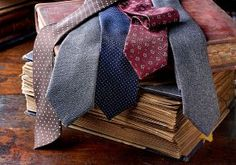 Silk and Fox Flannel Ties