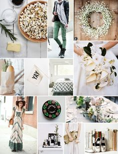 Rosemary and Cream Inspiration Board | Camille Styles