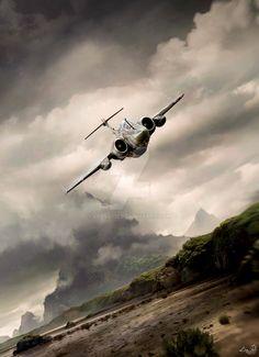 Blackburn Buccaneer by LPBS2012