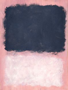 Abstract Art Print Untitled 1967 by Mark Rothko 24x18 Pink White Poster | eBay