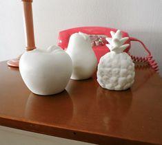 Frutas cerámica led