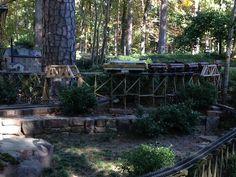 Garvan Woodland Gardens Train Garden