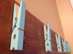 Sweet Stella's: DIY Ombre Wall Art Display