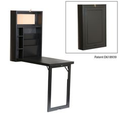 Fold Out Convertible Desk from Southern Enterprises 10 Super Smart Pieces of Convertible Furniture