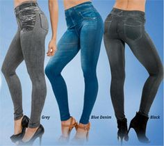 2016NEW Sexy Women Jean Trouser Jeggings Stretchy Slim