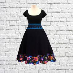 S M L Handmade Swing Dress Etsy Shop Black Cherrys Store