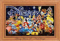 Disney Heroes 27 cross stitch pattern PDF pattern