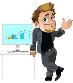 Businessman with computer (c) ZEF®