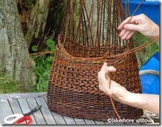 by Danish basket maker Anne Mette Hjornholm.