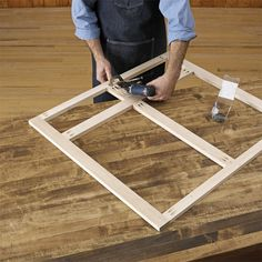 You can make doors using just your tablesaw and a general-purpose blade to cut the joints. Installing Kitchen Cabinets, Building Kitchen Cabinets, Oak Kitchen Cabinets, Built In Cabinets, Cupboards, Garage Cabinets, Base Cabinets, Diy Storage Cabinets, Diy Cabinet Doors