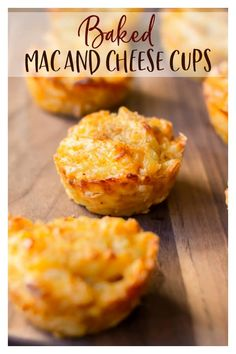 Baked Mac and Cheese Cups are cheesy delicious, easy to make, and fun to eat. They are perfectly portioned to serve as appetizers or snacks, or have a few and make them a meal. These macaroni and cheese bites are definitely not just for the kids! Mac And Cheese Cupcakes, Mac And Cheese Cups, Best Mac And Cheese Recipe Easy, Easy Mac And Cheese, Superbowl Snacks For Kids, Cheddar, Yummy Food, Fresh, Appetizer Ideas