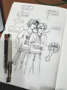 Magnus is shorter than Alex and he does not like it at all. So he's awkward and grumpy and all-blushy. Hahahaha.