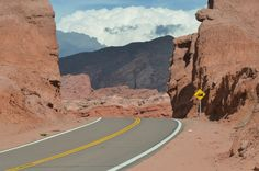 On the way from Cafayate to Salta, Argentina.