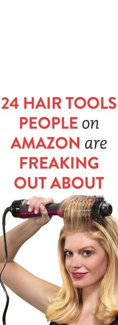 24 Hair Tools People On Amazon Are Freaking Out About