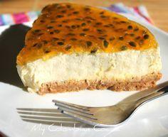 My Colombian Cocina - Cheesecake de Mango y Maracuya