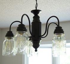 DIY mason jar light tutorial