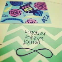 together. forever. joined.