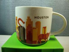 Houston Starbucks Coffee Tea Mug Cup You Are Here Collection NIB 2013 #Starbucks