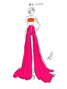 "proudtoloveswift: "" Taylor Swift's Grammys outfits through the years: My fashion illustrations digitalized // [8/?] ""58th Annual Grammy Awards (2016) "" """