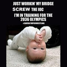 For my fellow wrestling Mom's & Dad's...haha