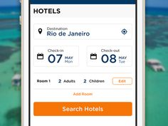 Mobile Site (Hotel Search)