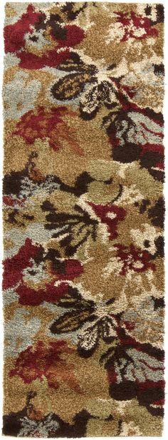 Surya AFR3333 Alfredo Brown, Multi-Color Runner Area Rug