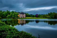 "Reflection of the ""Château de La Verrerie"" by educhamp"