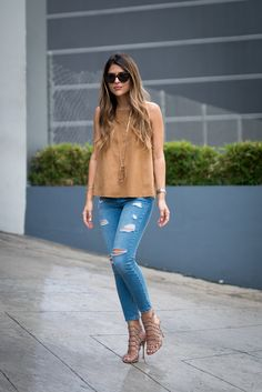 Topshop-Suede-Top-Moto-High-Rise-Ripped-Jeans