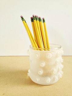 pencil cup from keyboard