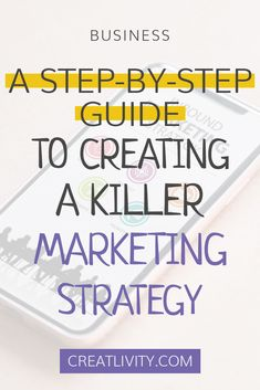 Getting lost in a sea of marketing topics? Start with the basics by creating a killer marketing strategy!  Not to be confused with a marketing plan, a marketing strategy will help you define your goals. A marketing plan helps you determine what methods you will use to get achieve those goals. Online Marketing. Digital Marketing. Social Media Marketing. Step by Step Guide. How To. Business Tips. Online business. Career Advice. Entrepreneurship.