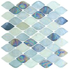 16 best sea glass tile ideas glass
