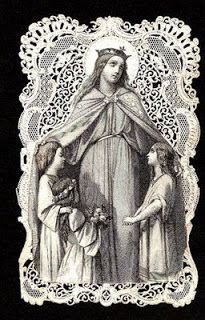 Catholic By Grace: Under Mary's Mantle    A few years ago, I consecrated myself to Mary. At the most fundamental level, this simply means that I give all that I have to give... to Jesus Christ... but I ask that my meager gifts pass through the hands of the Blessed Mother before finally coming to rest at Our Lord's feet.