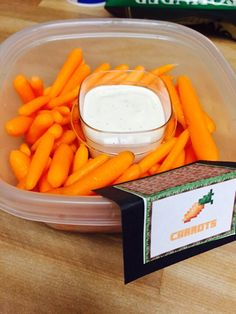 Minecraft carrots!!